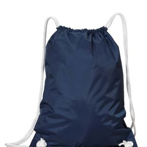 White Drawstring Backpack Thumbnail