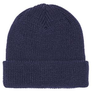 Ribbed Cuffed Knit Beanie Thumbnail