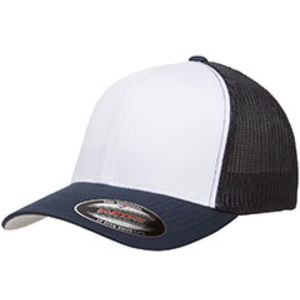 Flexfit Trucker Mesh with White Front Panels Cap Thumbnail