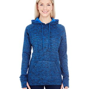 Ladies' Cosmic Contrast Fleece Hood Thumbnail